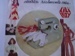 Spanish Doll Pattern maquina de coser clothes Lily electrica